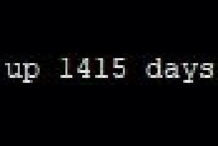 """1415 dias de """"uptime"""""""